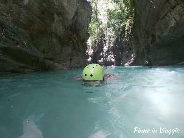 canyoning filippine