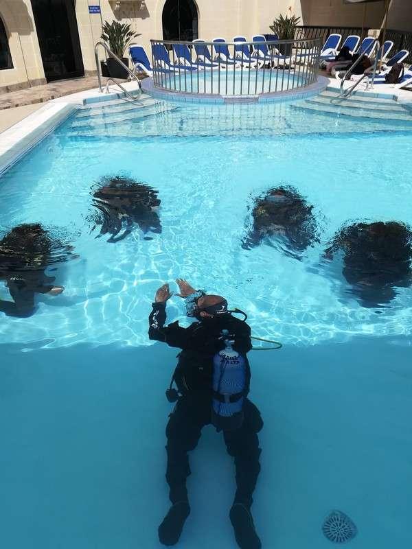 Corso diving go dive Malta